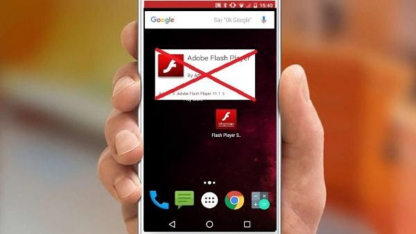 Flash Player больше не запускается на Android